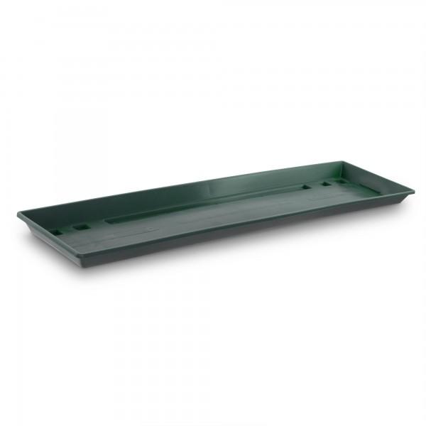 Miska pod truhlík tmavě zelená 60 cm