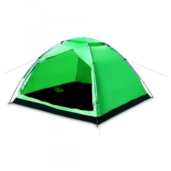 Stan pro 3 osoby zelený 200 x 200 x 130 cm