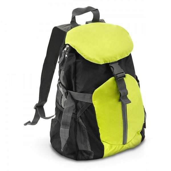 Batoh 20 l skládací zelený/černý