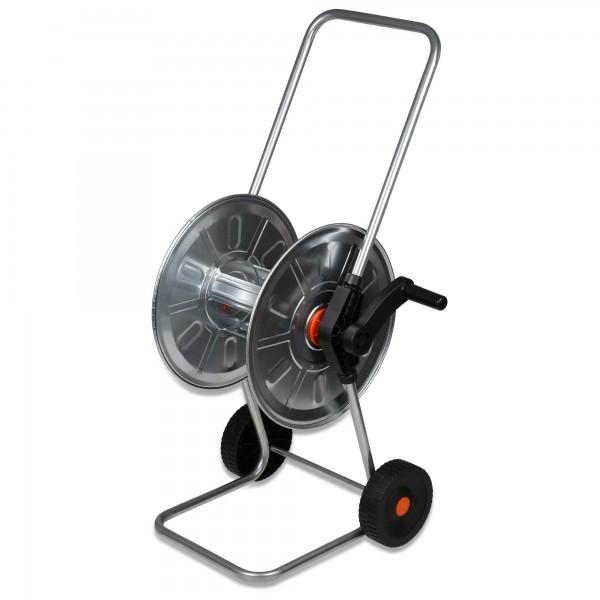 """Kovový vozík na hadici až 50 m 1/2"""" pozinkovaný"""