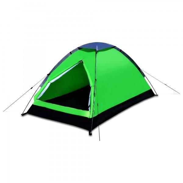 Stan pro dvě osoby zelený 200 x 120 x 100 cm