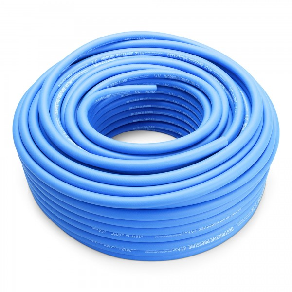 "1/4"" hadice vzduchová 50 m, guma"