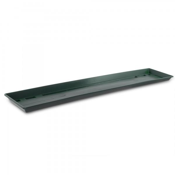 Miska pod truhlík tmavě zelená 80 cm