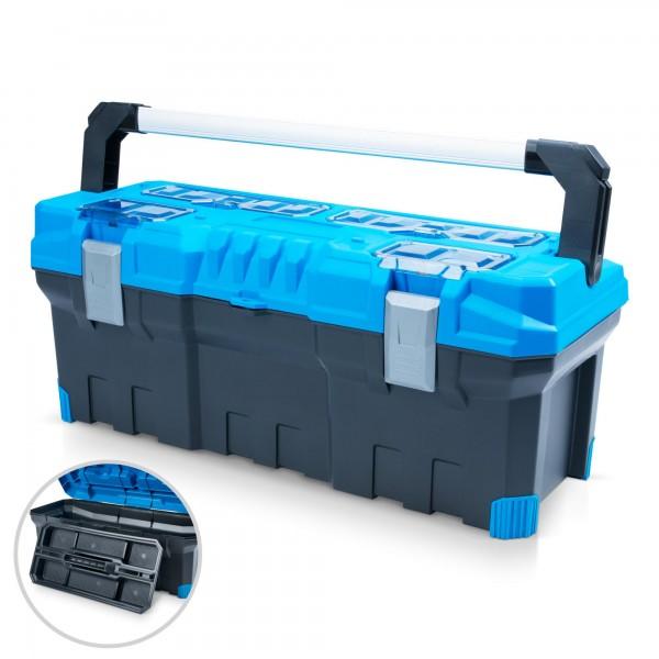 Kufr na nářadí Prosperplast Titan Plus P90589 75 x 30 x 30 cm modrý