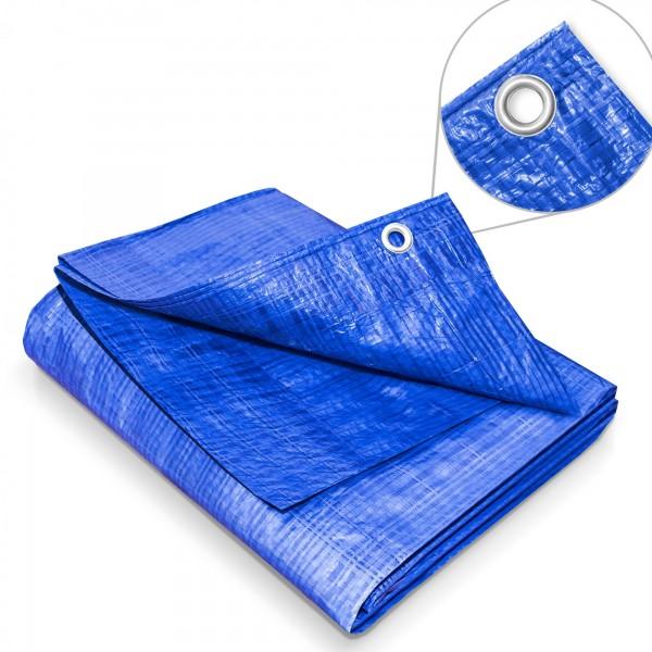 Zakrývací plachta 4 x 8 m – 60 g modrá krycí plachta