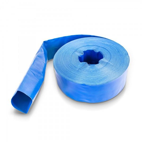 PVC plochá hadice 3'' - 50 m, odolná vůči UV záření a povětrnosti, BRADAS